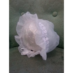 Prairie Hat - Adjustable Organza