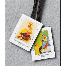 Scapular Lady of Mt Carmel