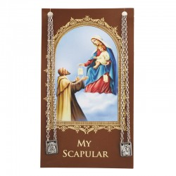 Scapular - Sacred Heart & Blessed Mother