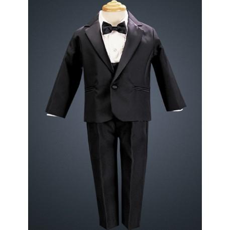 Infant Toddler Tuxedo W Dinner Jacket